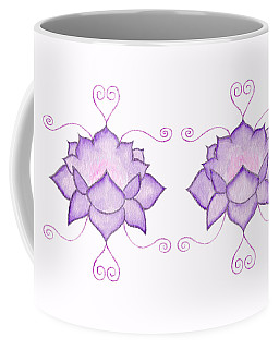 Purple Lotus II Coffee Mug