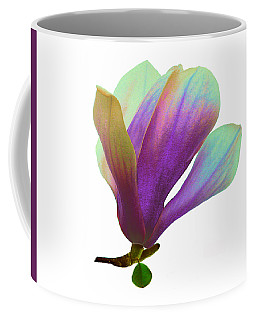 Purple Magnolia Coffee Mug