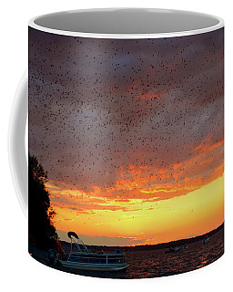 Purple Martin Sunset On Lake Murray Sc Coffee Mug