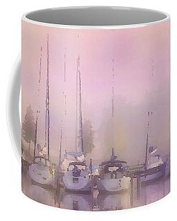 Purple Marina Morning Coffee Mug