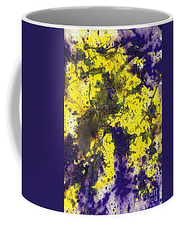 Purple Married Yellow Coffee Mug