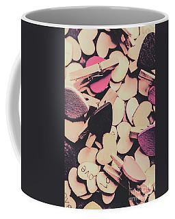 Purple Messy Love Coffee Mug