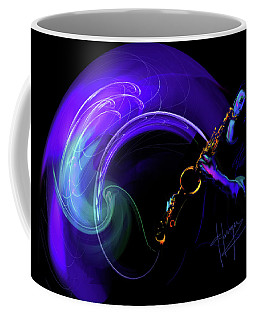 Purple Moon Coffee Mug