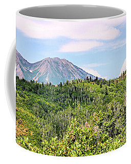 Coffee Mug featuring the photograph Purple Mountain Majesty by Kristin Elmquist