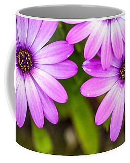 Purple Petals Coffee Mug