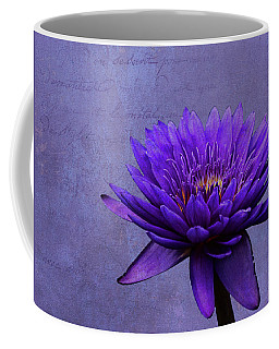 Coffee Mug featuring the photograph Purple Passion by Judy Vincent