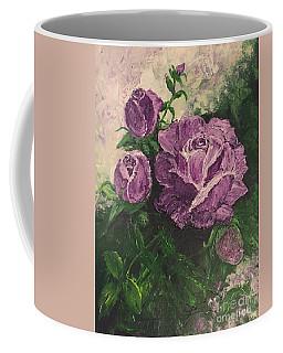 Purple Passion Coffee Mug by Lucia Grilletto