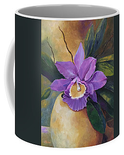 Purple Passion Orchid Coffee Mug