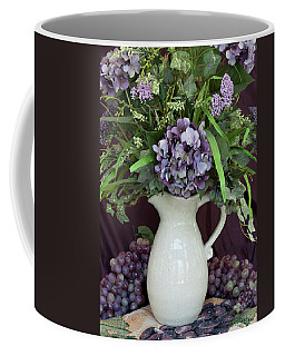 Coffee Mug featuring the photograph Purple Pleasures by Sherry Hallemeier