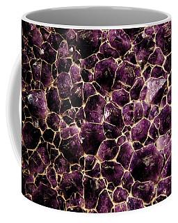 Purple Quartz  Amethyst Coffee Mug
