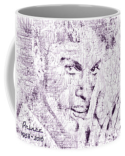 Purple Rain By Prince Coffee Mug