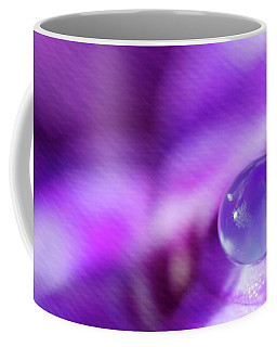 Purple Rain Drop Coffee Mug