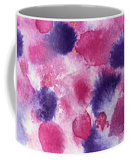 Coffee Mug featuring the painting Purple Rain by Kim Nelson