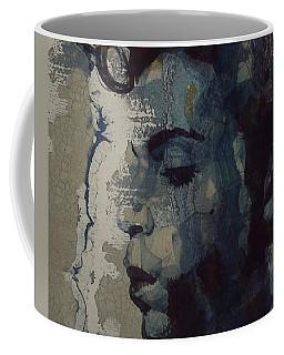 Purple Rain - Prince Coffee Mug by Paul Lovering