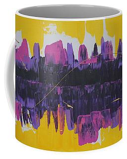 Purple Reflections Coffee Mug