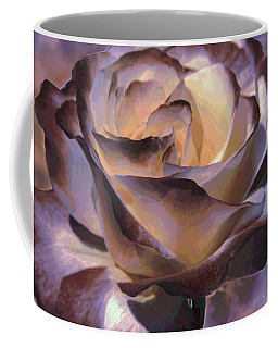 Coffee Mug featuring the photograph Purple Rose by Athala Carole Bruckner