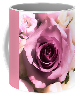 Purple Rose Coffee Mug
