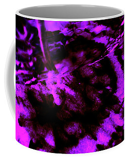 Purple Shadow Web Coffee Mug by Samantha Thome