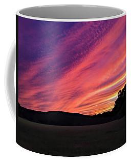 Coffee Mug featuring the photograph Purple Sky by Sven Kielhorn