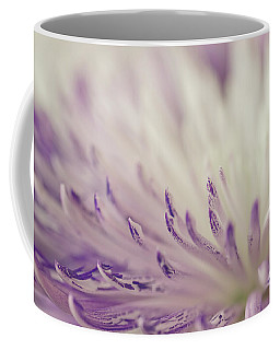 Purple Spider Mum Macro Coffee Mug