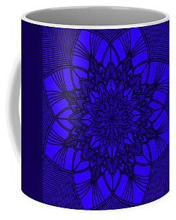 Coffee Mug featuring the digital art Purple Spiritual by Lucia Sirna