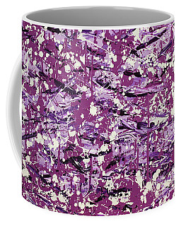 Purple Splatter Coffee Mug