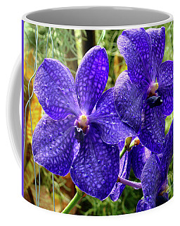 Purple Spotted Orchids Coffee Mug