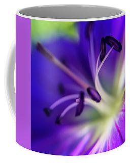 Purple Starburst Coffee Mug