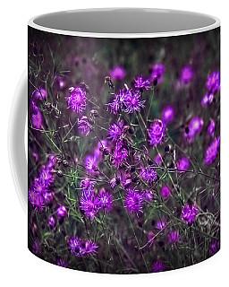 Purple Stars Coffee Mug