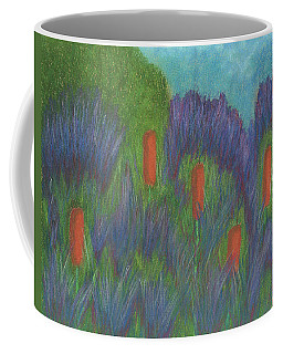Purple Strife And Cattails Coffee Mug