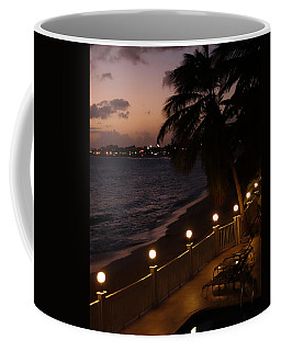 Purple Sunset In Saint Martin Coffee Mug