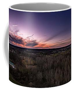 Purple Sunset Coffee Mug