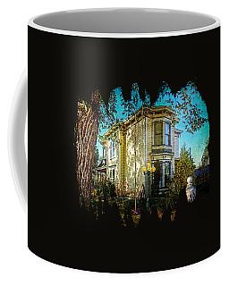 House With The Purple Swing Coffee Mug
