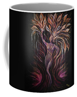 Purple Tree Goddess Coffee Mug