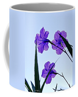 Purple Trio Coffee Mug