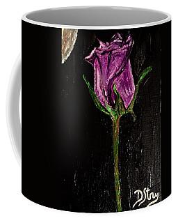 Purple Under The Moon's Glow Coffee Mug