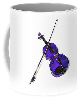 Purple Violin Coffee Mug