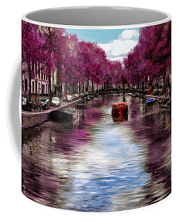Purple Water Coffee Mug