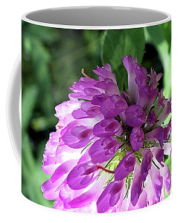 Purple Wild Flower Coffee Mug