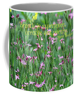 Purple Wildflower Of Poets Coffee Mug