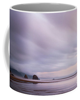 Purple Wisp In The Morning Coffee Mug