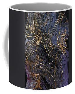Purple With Texture Coffee Mug
