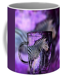 Purple Zebra Coffee Mug