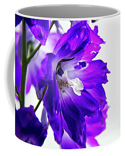 Coffee Mug featuring the photograph Purpled by David Sutton