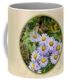 Purplish Copper On Wild Asters Coffee Mug