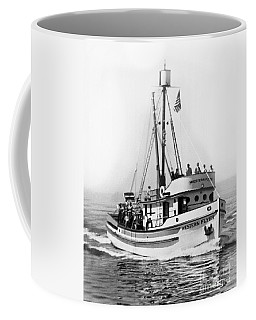Purse Seiner Western Flyer On Her Sea Trials Washington 1937 Coffee Mug