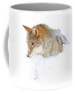Pushing Through Coffee Mug