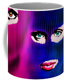 Pussy Riot Coffee Mug by Tony Rubino