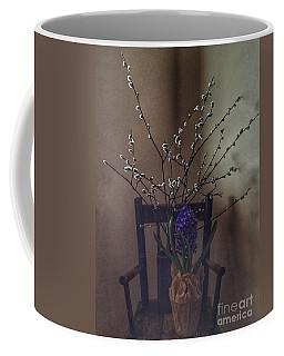 Pussy Willow And Hyacinth Still Life Coffee Mug