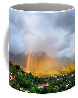 Puu Alii With Rainbow Coffee Mug